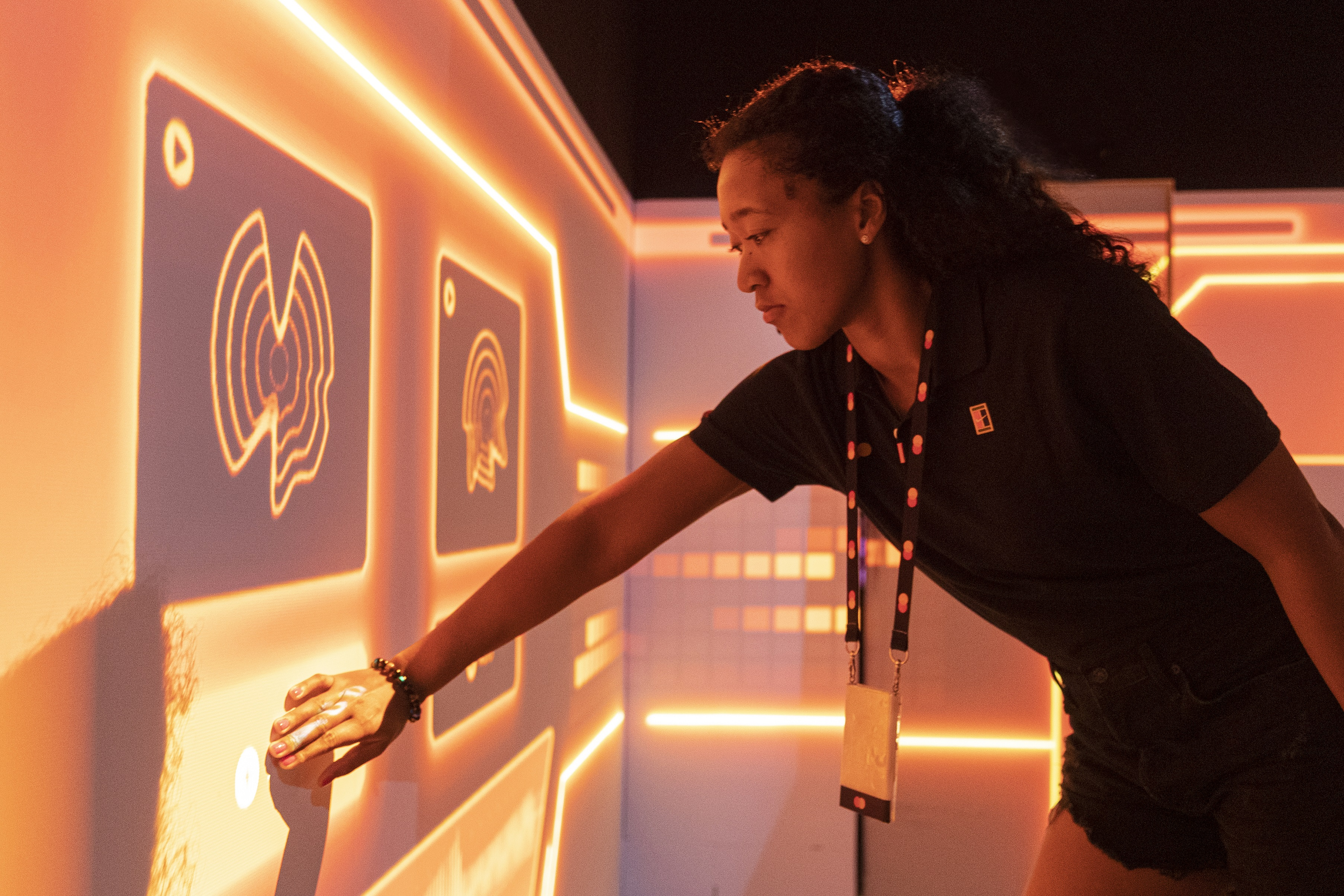 Naomi Osaka takes on the Breakthrough Room 1 - compressed for the EB