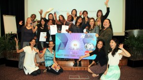 Flickr Photo: Project Inspire 2013 Finalists with the MasterCard and UN Women teams