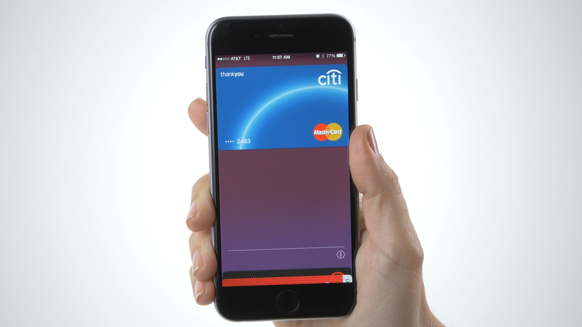 MasterCard Apple Pay - Citi Card