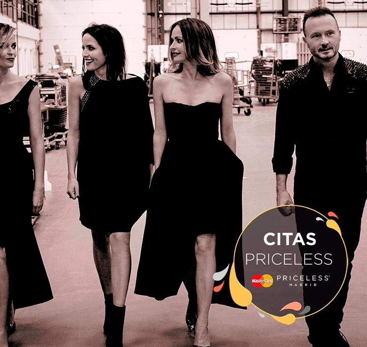 Cita Priceless con The Corrs en Madrid