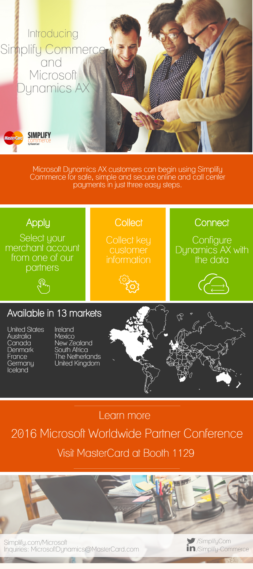 Simplify Commerce-Microsoft Dynamics Graphic