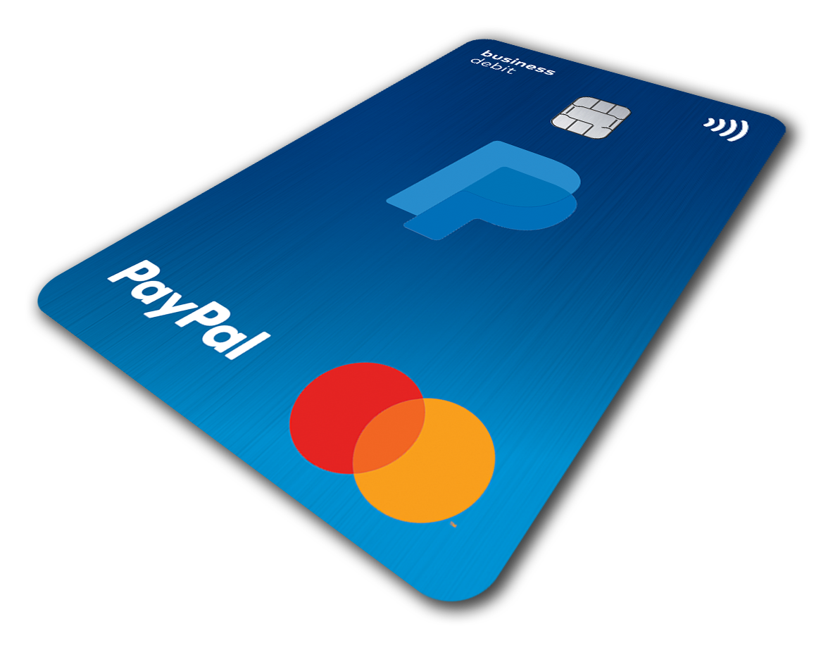 PayPal Business Debit Mastercard 2
