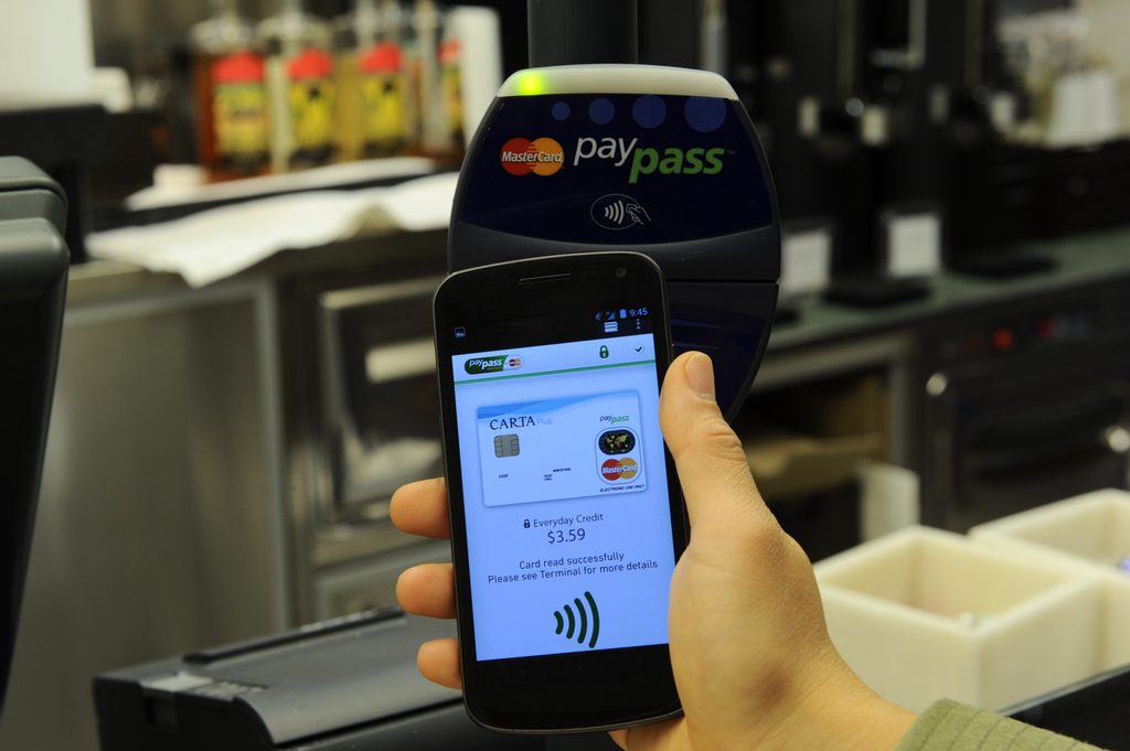 Flickr Photo: MasterCard PayPass Wallet Services NFC POS