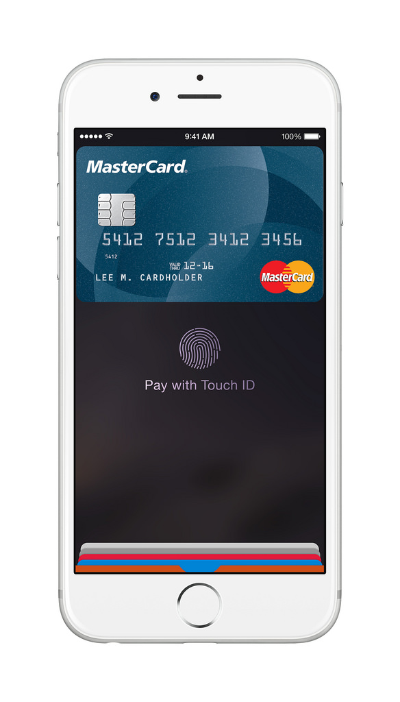 Flickr Photo: MasterCard_Apple Pay_iPhone