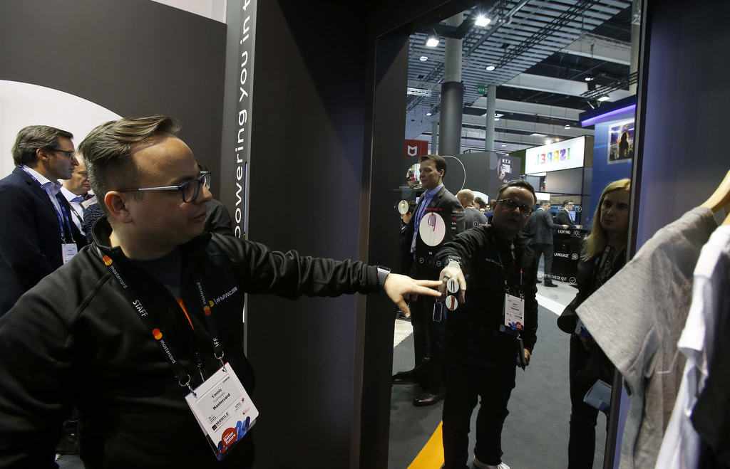Flickr Photo: Payments-Enabled Mirror at MWC 2018