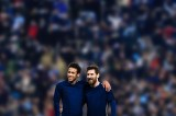 April 29th 2017, Barcelona, Spain; La Liga football, RCD Espanyol versus FC Barcelona; Leo Messi and Neymar Jr of FC Barcelona celebrates their goal for 0-2  (Photo by Action Plus via Getty Images)