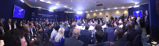 'Africa Rising' session at WEF