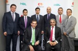 From L to R- Raghu Malhotra, Faiq Sadiq and other executives