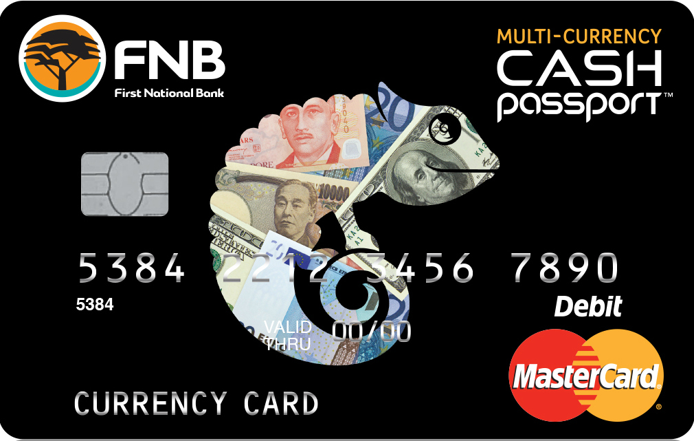 Multi-currency forex card