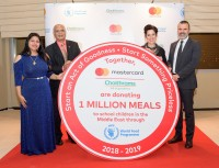 Choithrams, Mastercard and WFP