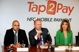 Flickr Photo: Michael Miebach speaking at Tap2Pay NFC Mobile Payment launch