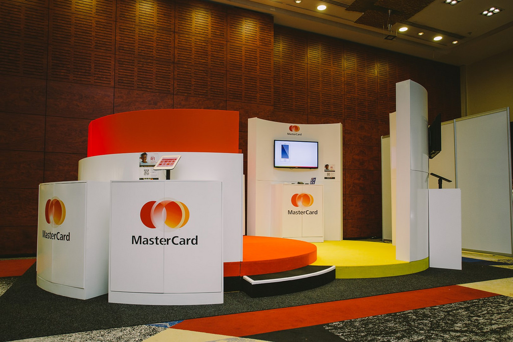 Flickr Photo: MasterCard stand