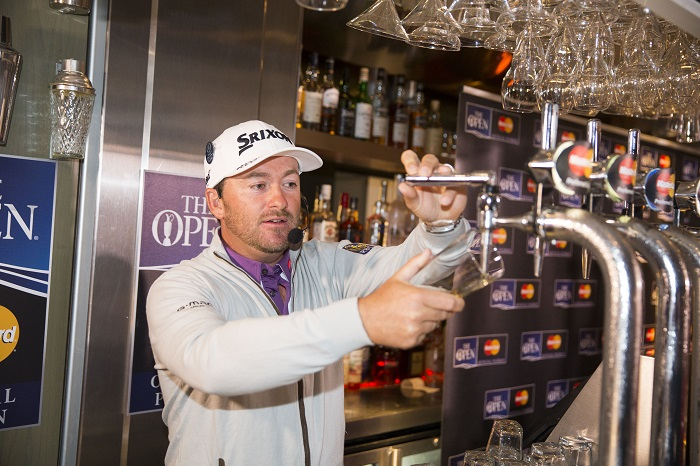 11/7/16 Graeme McDowell appearing in local bar to answer questions from Master Card holders where attendees can have a drink with him.