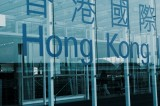 "Sign reading ""Hong Kong"""