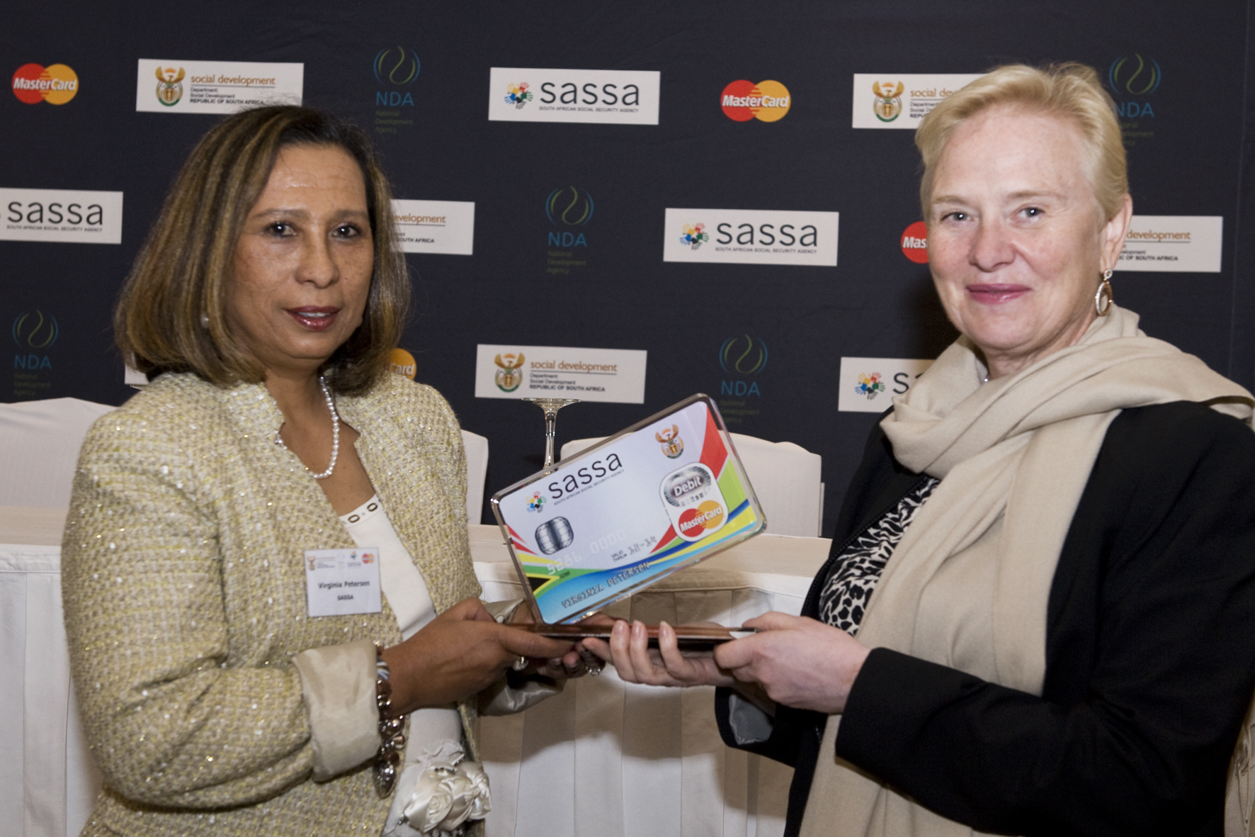 MasterCard and SASSA celebrate social grants payment programme