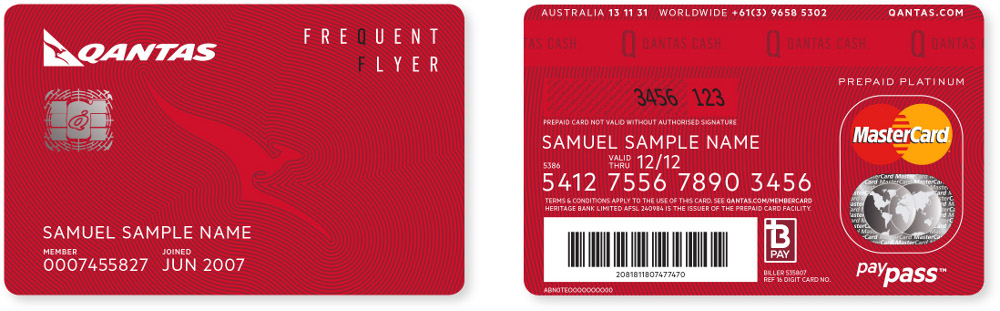 Qantas Launches Next Generation Frequent Flyer Card | Global Hub