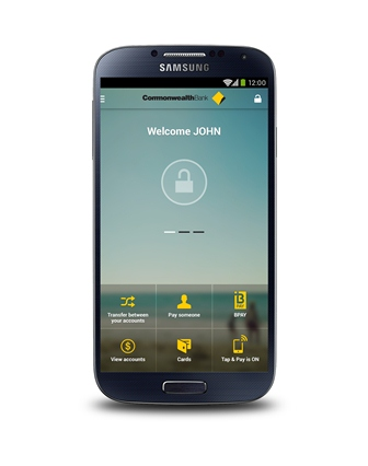 Commbank Tap& Pay mobile payments app in Australia