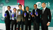 Industry partners at the launch of My EZ-Link Mobile