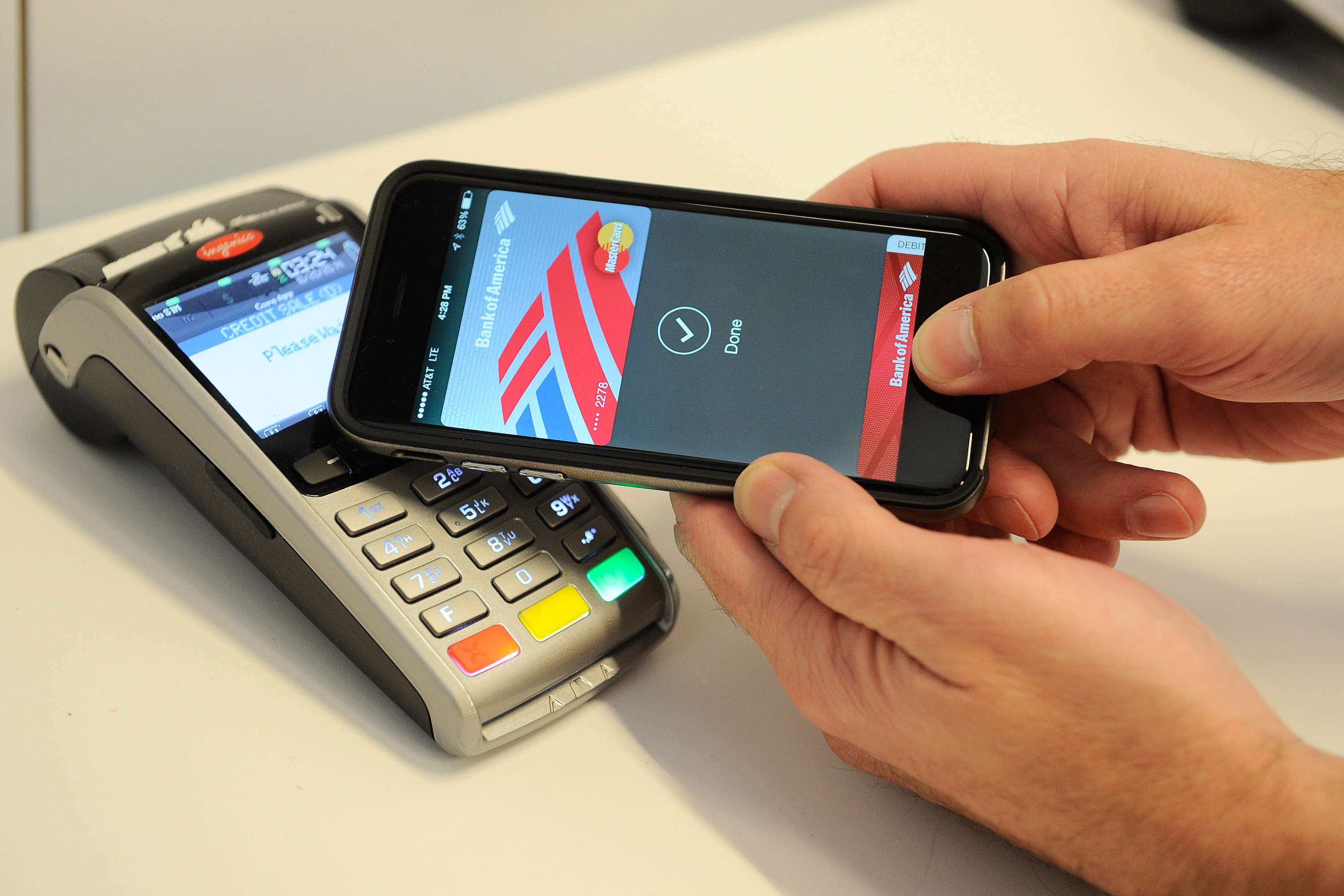 Apple Pay Demo at NYC Tech Hub