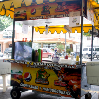 Hot Food Cart with POS in Caracas