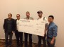 Team LoyaltyPass with the first prize awarded at the Money 20/20 Hackathon