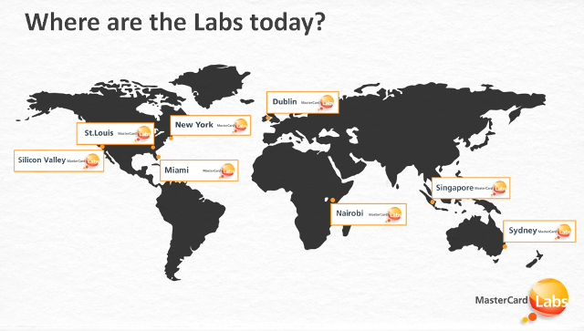 MasterCard Labs 7 Locations