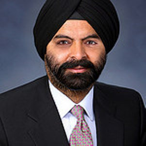 mastercard ceo ajay banga Ajay banga did a particularly good job at master card at embracing and  leveraging his fuzzy front end (the time between the acceptance of.