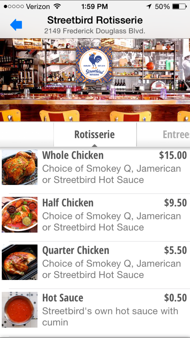 Qkr! with MasterPass at Streetbird