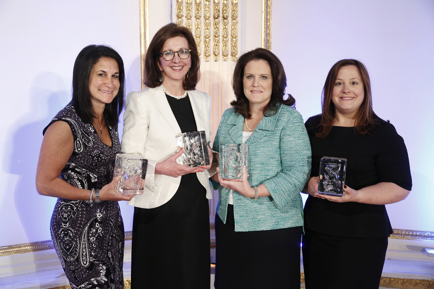 Eileen Simon and three other 2015 Aiming High award honorees