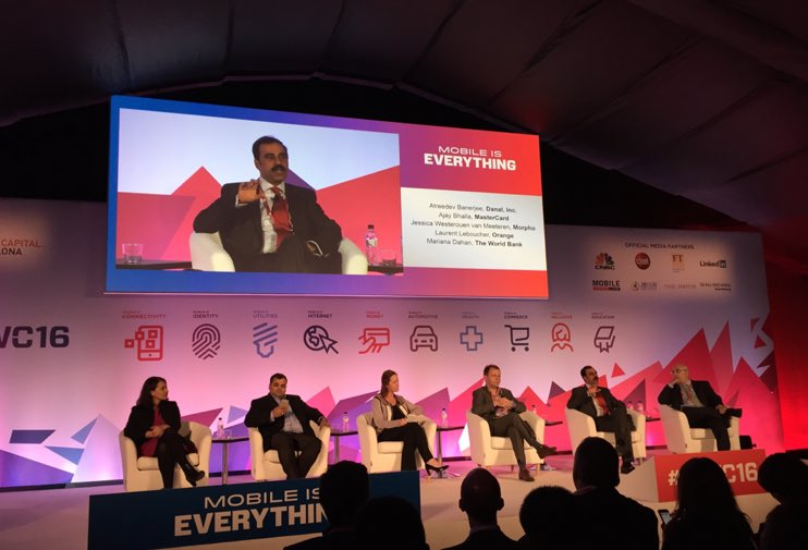 Ajay Bhalla Mobile World Congress Panel