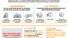 MasterCard Send Infographic
