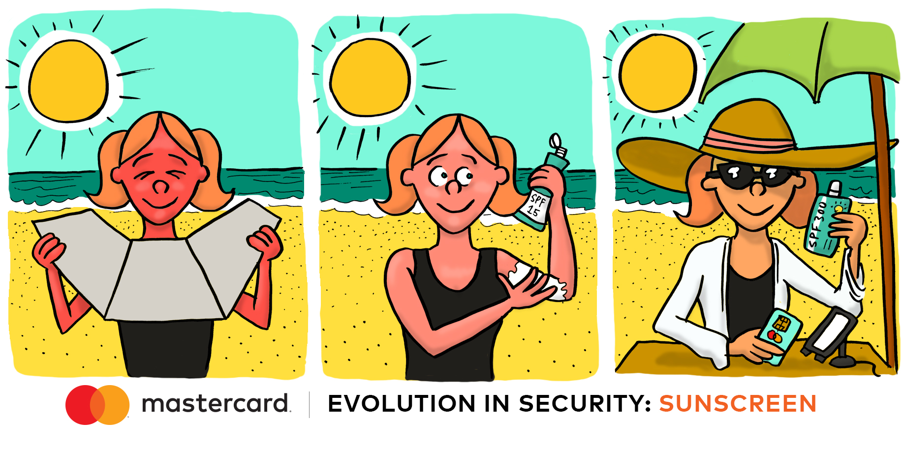 Don't get burned – secure chip card transaction in just a few seconds.