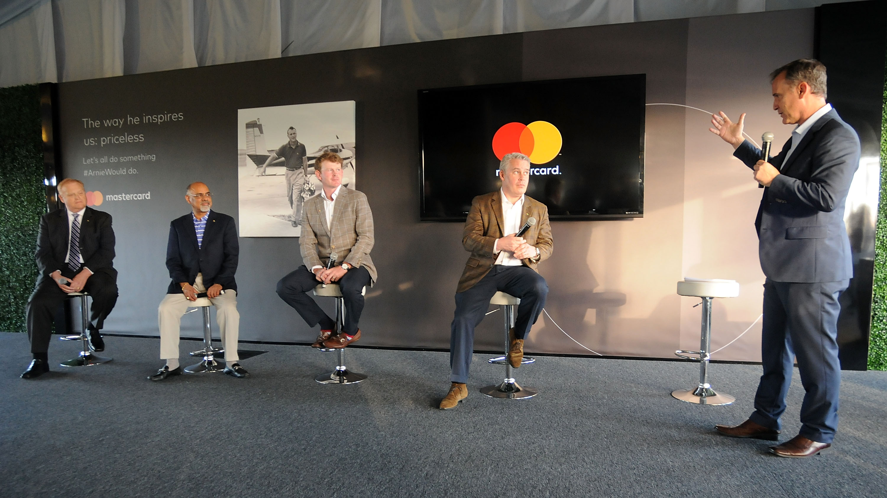 Arnold Palmer's Legacy is Honored at an Event at the Masterpass Club During the Arnold Palmer Invitational Presented by Mastercard - Day 1
