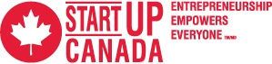 Startup Canada English Red Logo w Tagline 300x71
