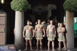 Haka Flash Mob