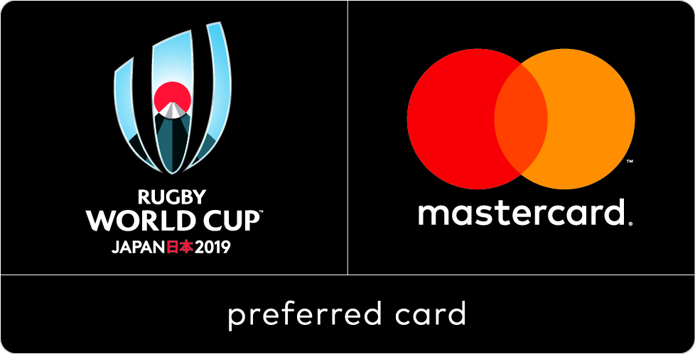 Rugby World Cup - preferred card