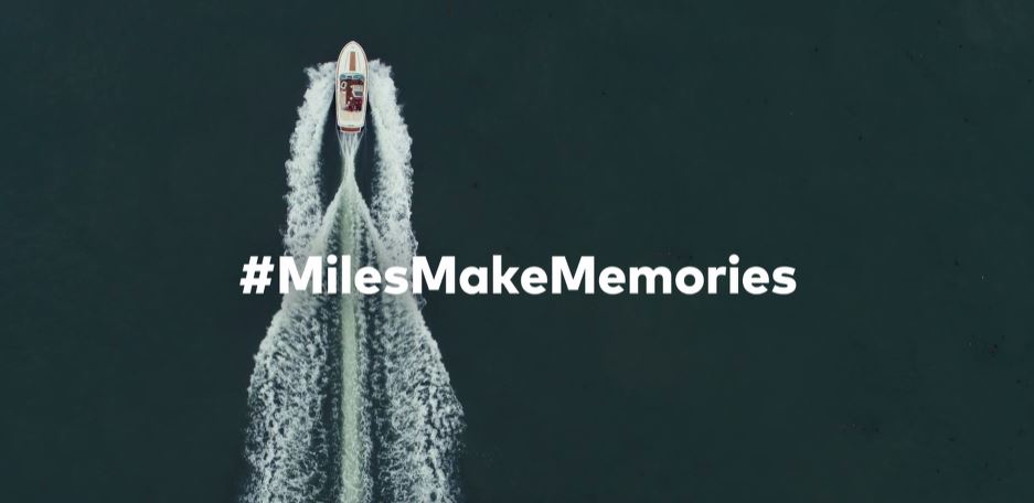 Miles Make Memories Boat