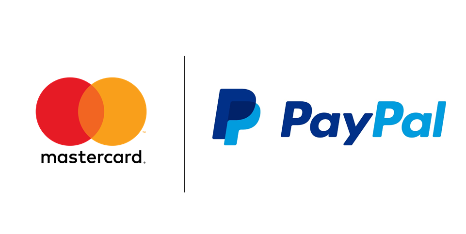 PayPal and Mastercard(edit)