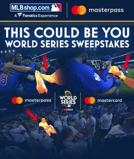 """Mastercard and MLB Launch """"This Could Be You"""" World Series Sweepstakes"""