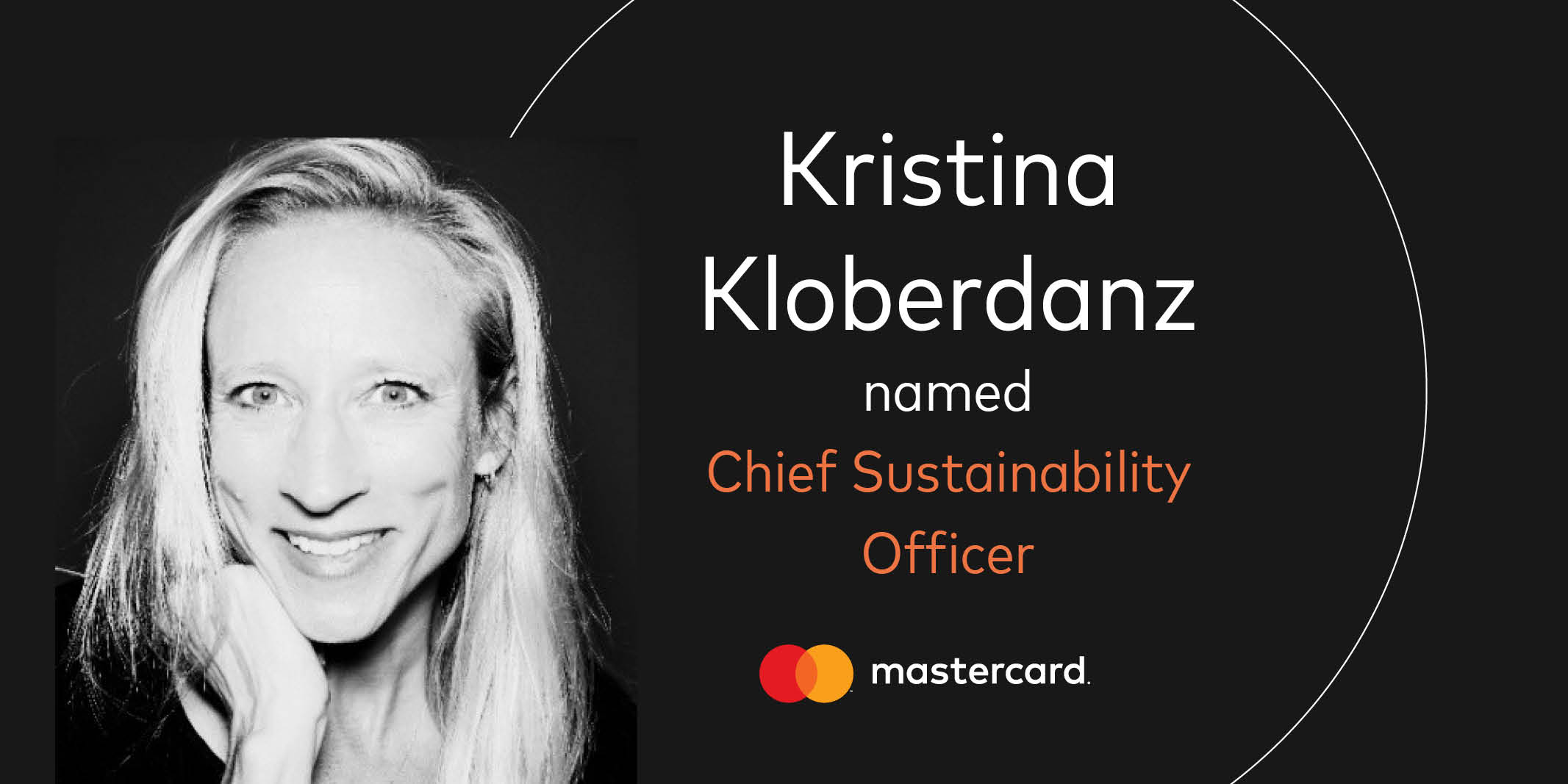 Mastercard Names Kristina Kloberdanz Chief Sustainability Officer