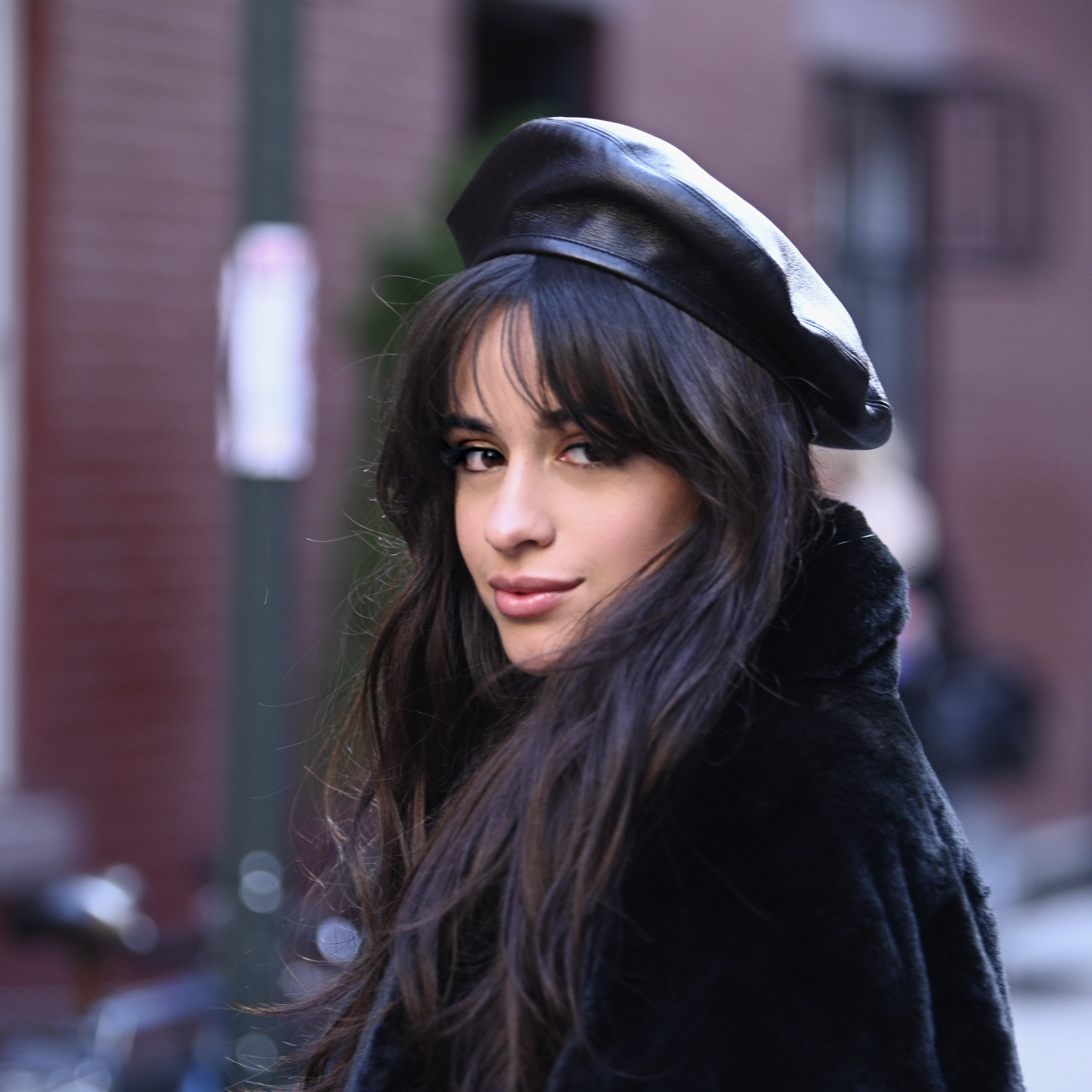 NEW YORK, NY - DECEMBER 06:  Singer Camila Cabello on set filming her new Mastercard ad which will highlight her collaboration and bring to life some of the exclusive experiences cardholders will enjoy.  (Photo by Dave Kotinsky/Getty Images for Mastercard)