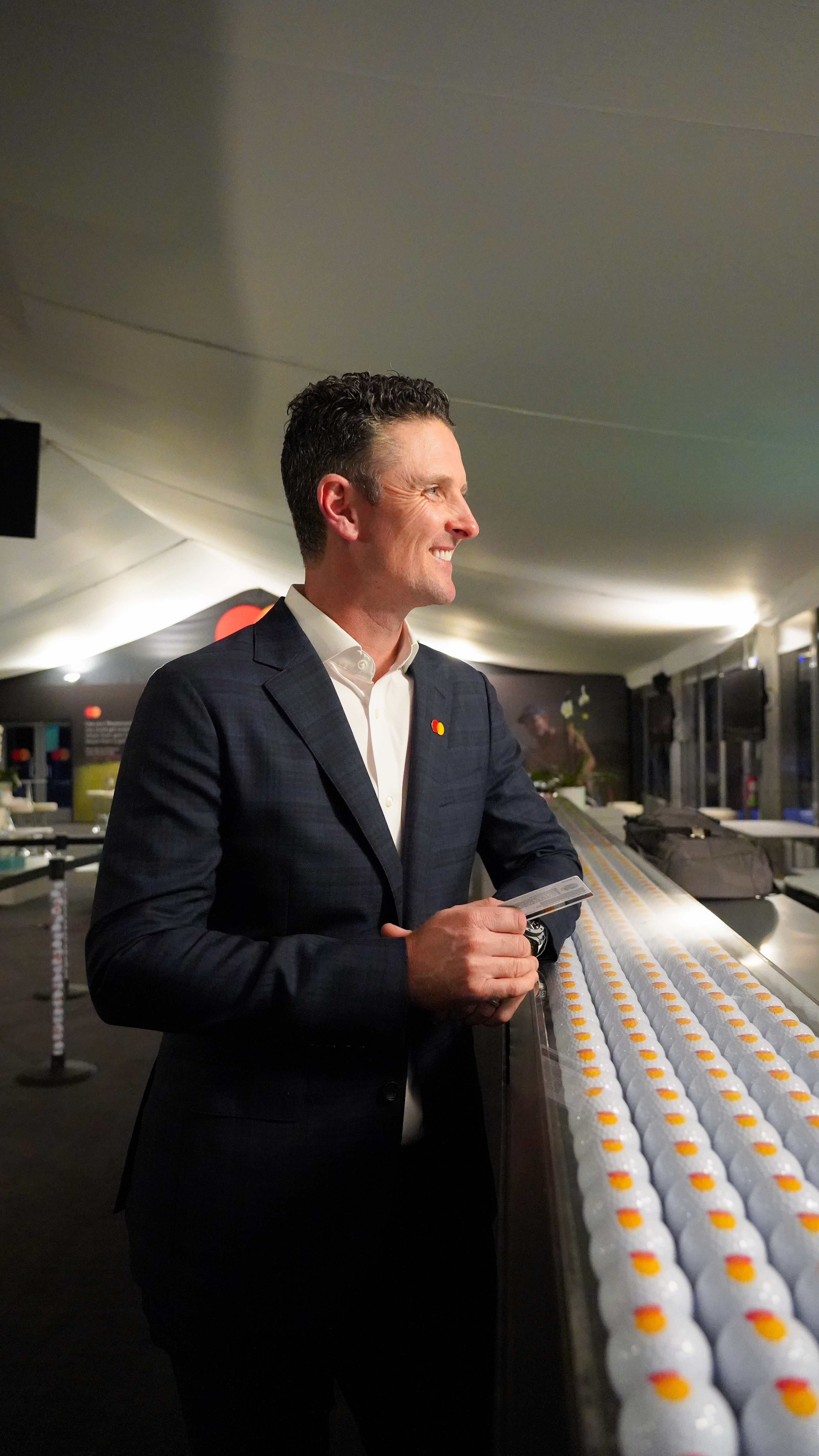 Mastercard's sonic brand sounds off as Justin Rose taps to pay at concessions at the Arnold Palmer Invitational presented by Mastercard