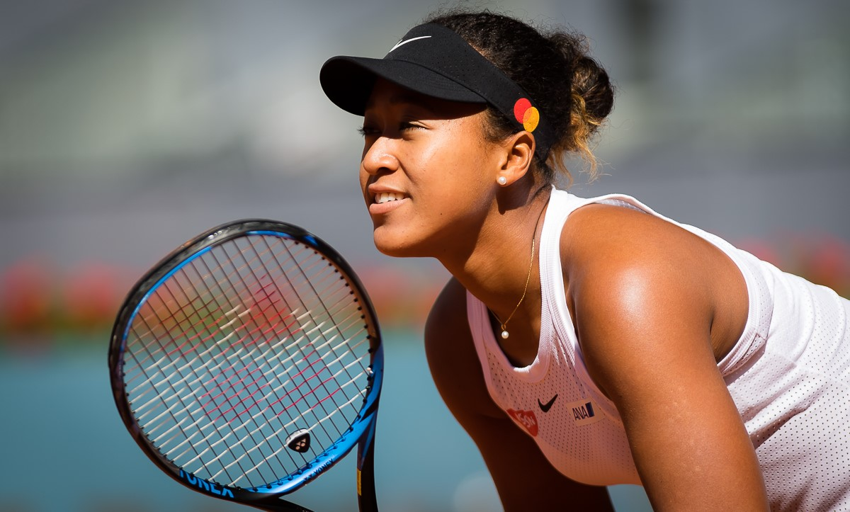 Mastercard announces World Number One, Naomi Osaka as their latest brand ambassador ahead of the French Open at Roland Garros.   Photo credit: Rob Prange