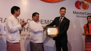 Flickr Photo: Certificate in honor of the First international ATM transaction in Myanmar