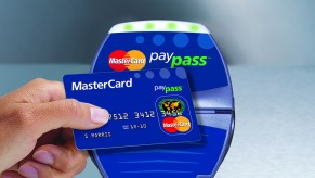 Flickr Photo: MasterCard PayPass reader