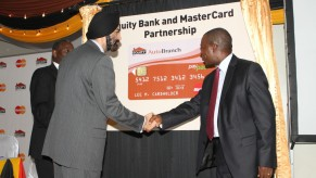 Flickr Photo: Ajay Banga, President and CEO Formalizes Deal with Equity Bank Group