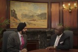 Flickr Photo: Ajay Banga, President and CEO Meets with South Africa's Deputy Minister of Finance Nhlanhla Nene