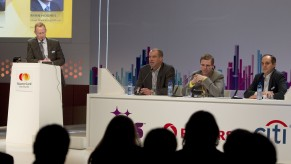 Flickr Photo: MasterCard at MWC13: North America Panel at the MasterCard Global Mobile Payments Symposium