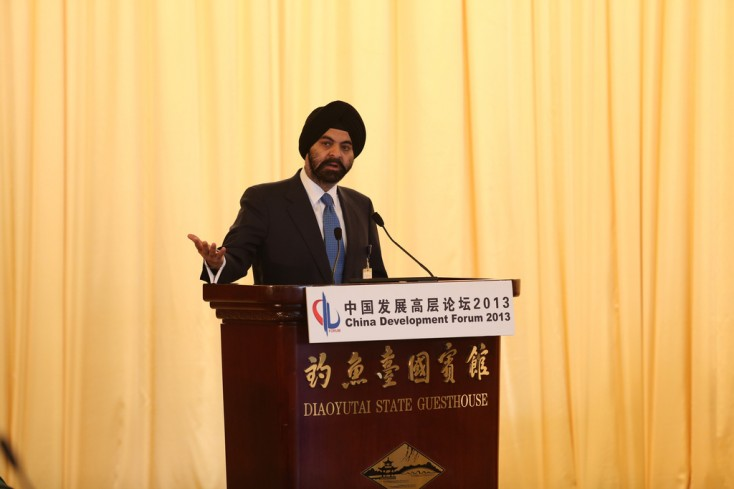 Flickr Photo: MasterCard at China Development Forum 2013: MasterCard's CEO Ajay Banga