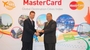 Flickr Photo: Launch of Global Destination Cities Index 2013 in Bangkok: Matthew Driver, President, South East Asia, MasterCard and Sukhumbhand Paribatra, Governor of Bangkok